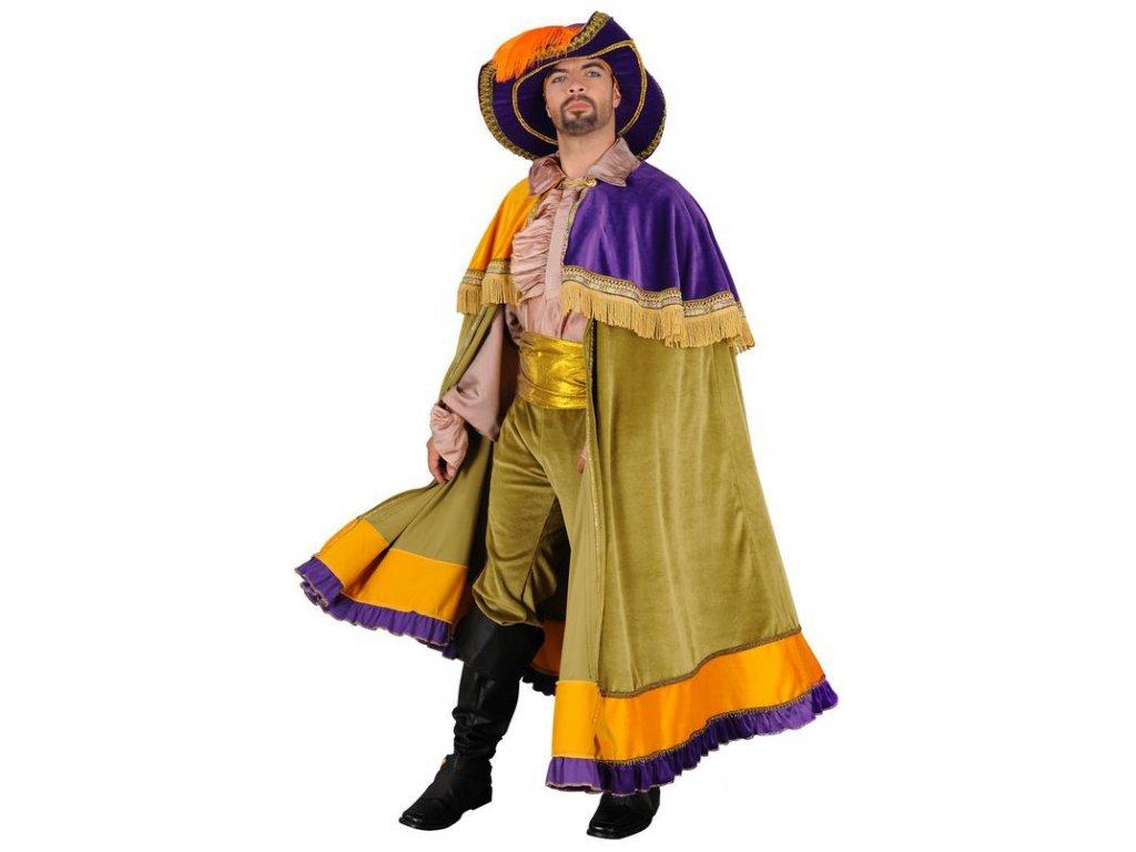 Trubadůr - kostým  pánský karnevalový kostým