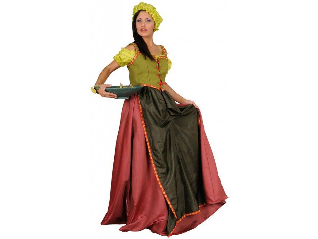 Servírka - kostým  dámský karnevalový kostým