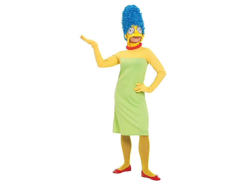 Marge Simpson - licenční kostým D  dámský karnevalový kostým
