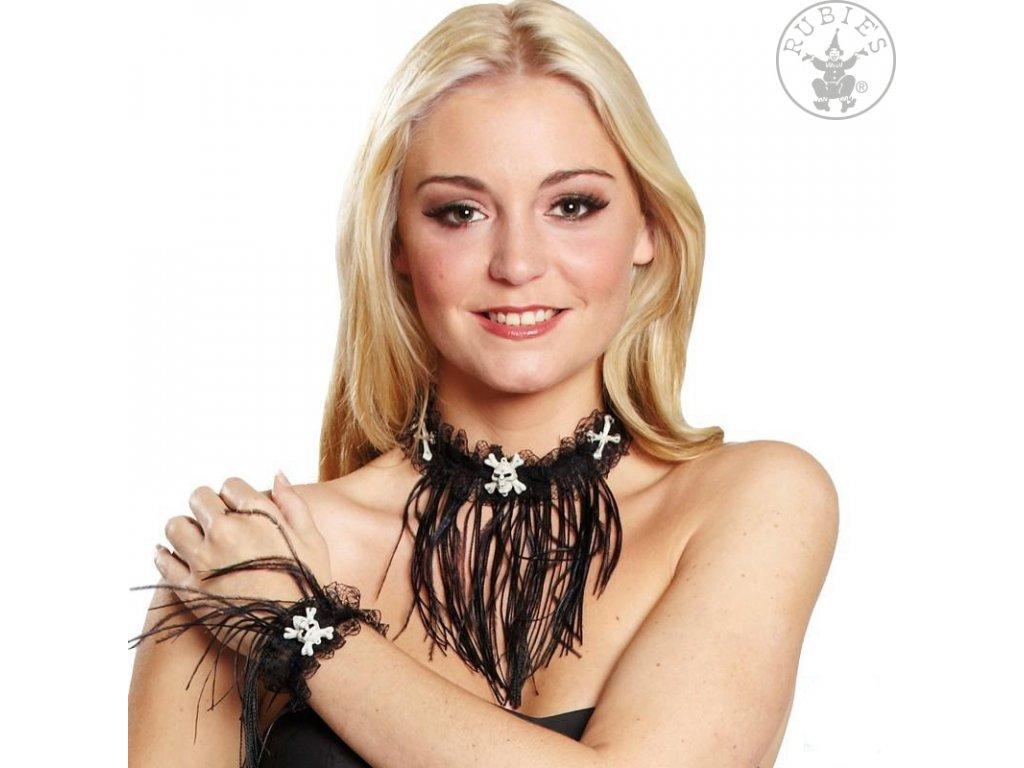 Set - náramek s náhrdelníkem D  Halloween
