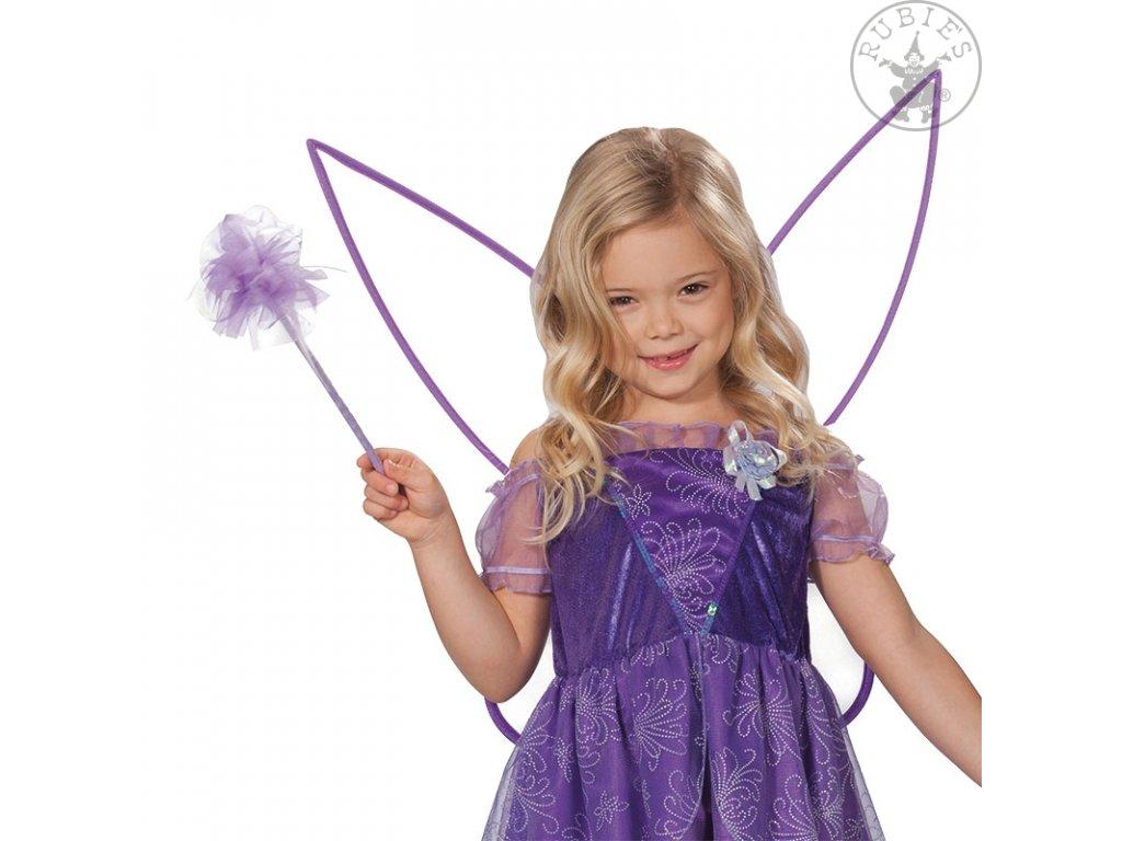 Set víla - křídla s hůlkou