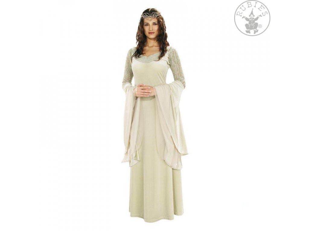 Královské šaty Arwen - licenční kostým D  dámský karnevalový kostým