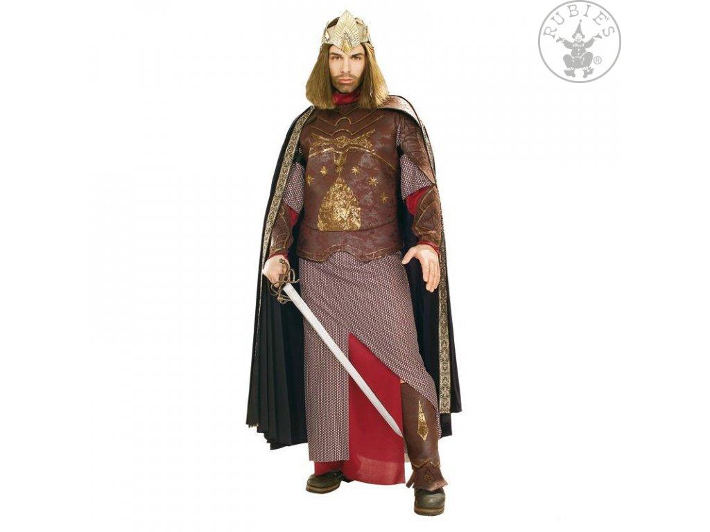Kostým Deluxe Aragom King - licence D  pánský karnevalový kostým