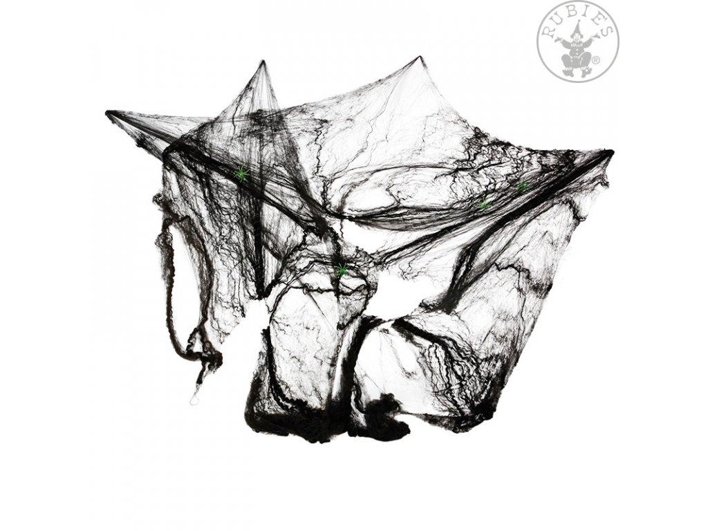 Pavučina černá 60 gr.  Halloween