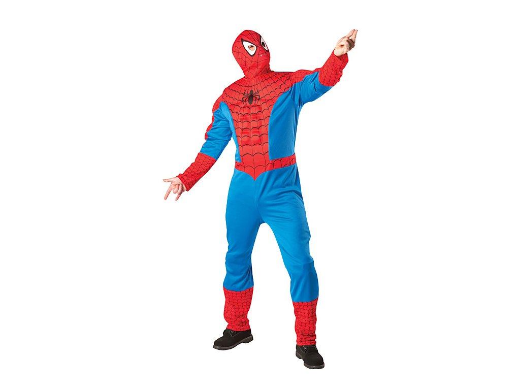 Kostým Spiderman Muscle Chest - licence D  pánský karnevalový kostým