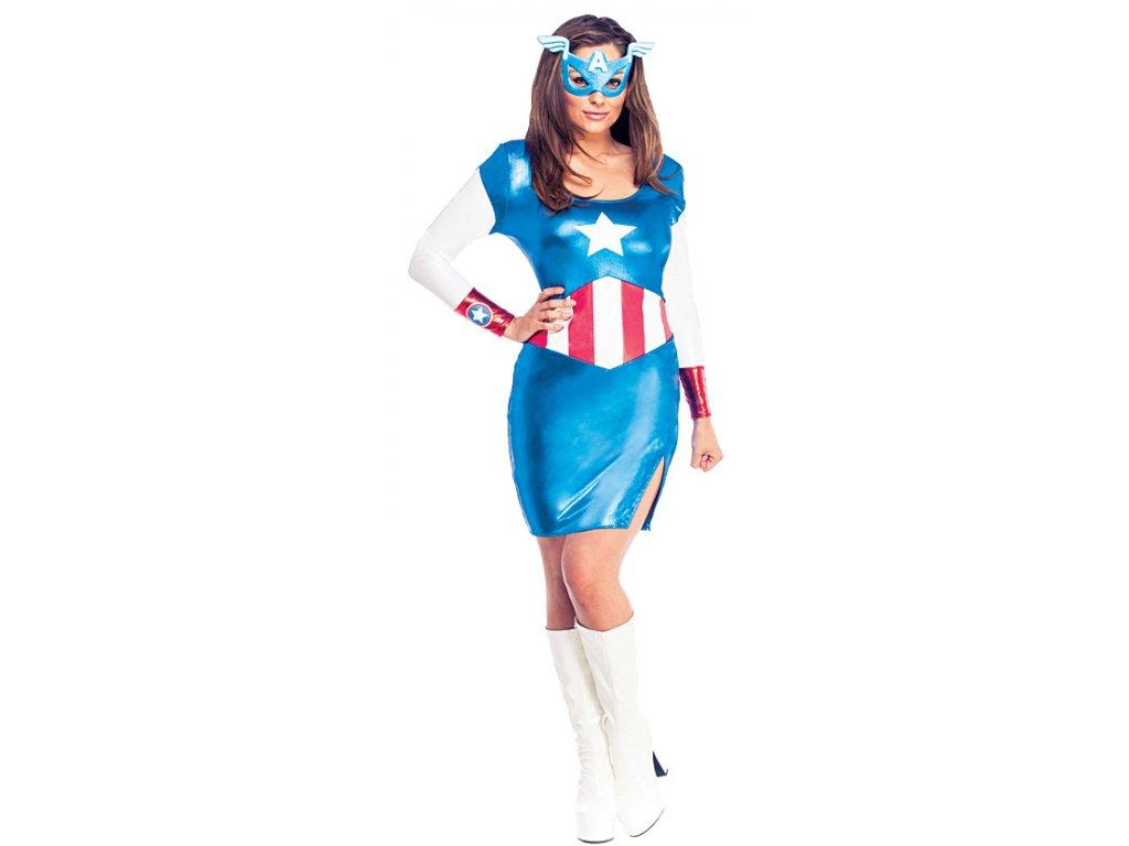 Miss American Dream - licenční kostým D  dámský karnevalový kostým