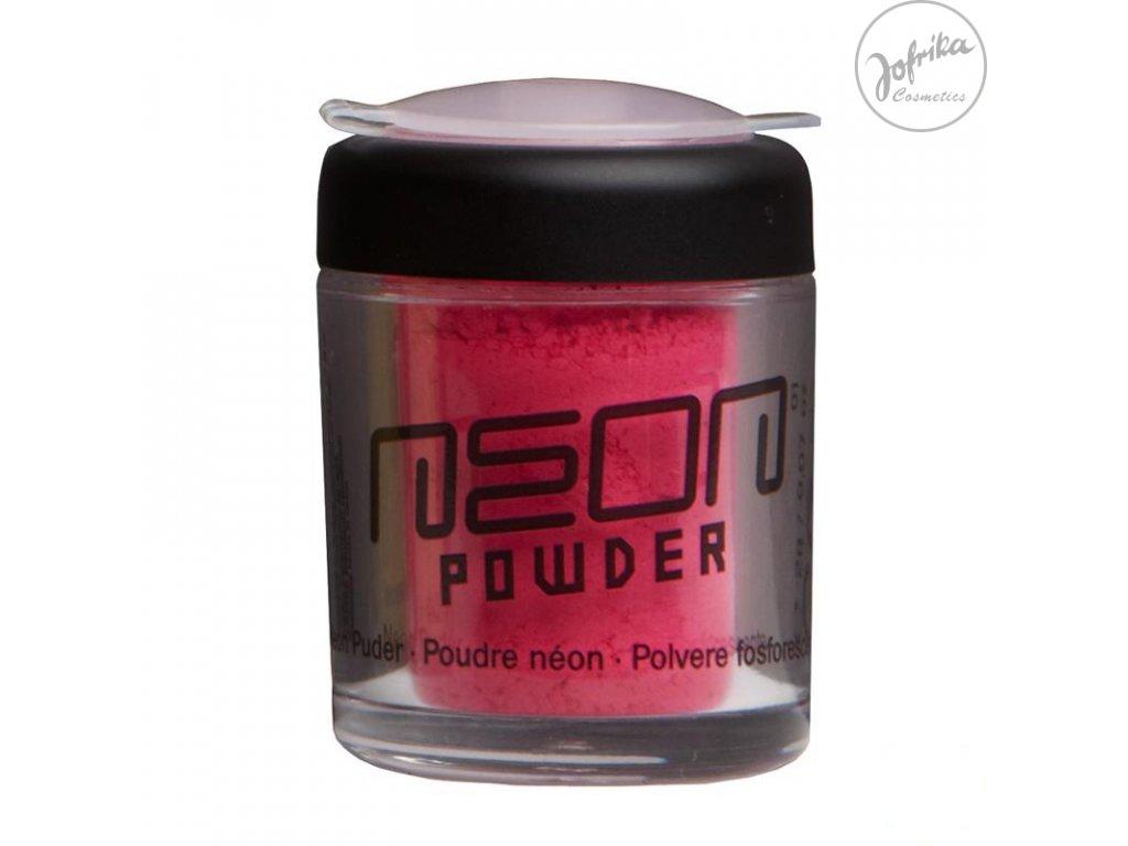 Neonový pudr růžový - D