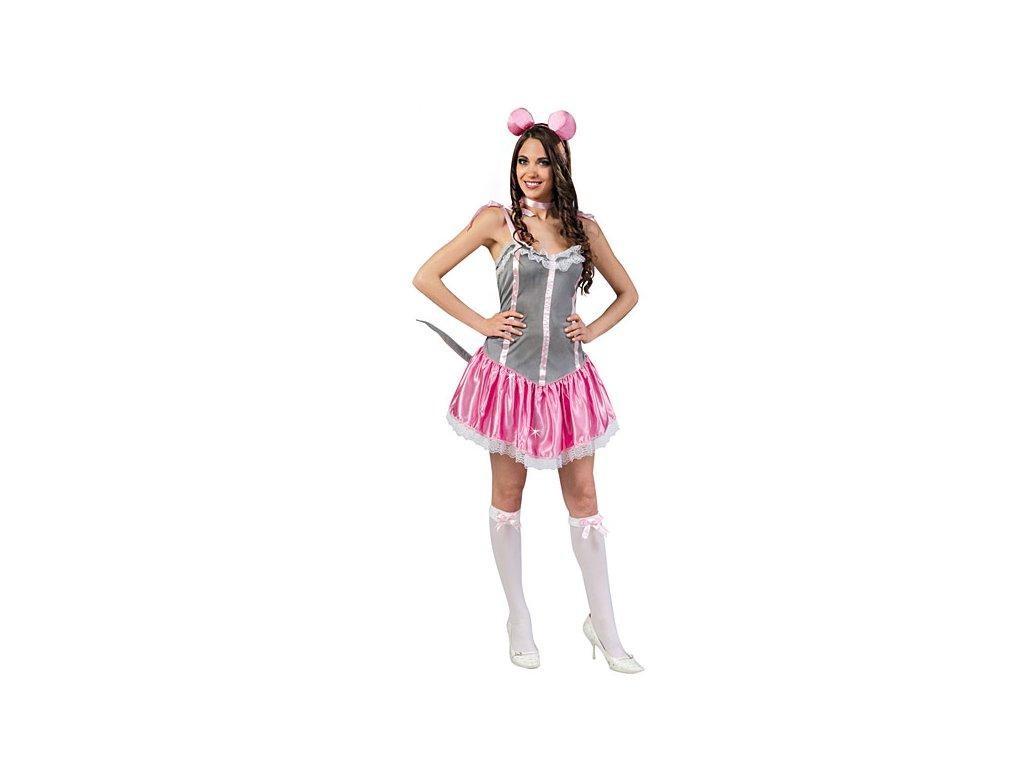 Kostým myška - D  dámský karnevalový kostým