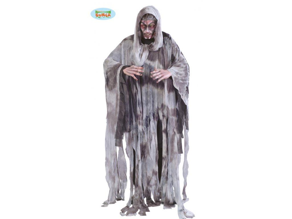 Kostým přízrak  strašidelný pánský karnevalový kostým vhodný nejen na Halloween