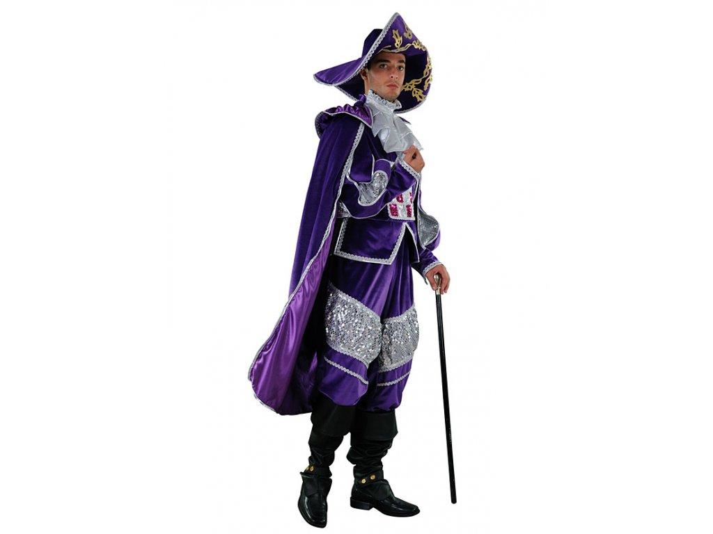 Deth in Venice  - kostým mušketýrský  pánský karnevalový kostým