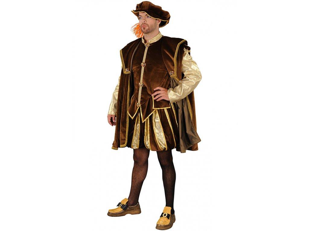 Benátský dóže  - kostým  pánský karnevalový kostým