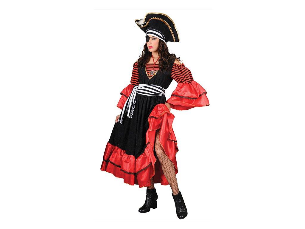 Caribean Pirate - kostým  dámský karnevalový kostým