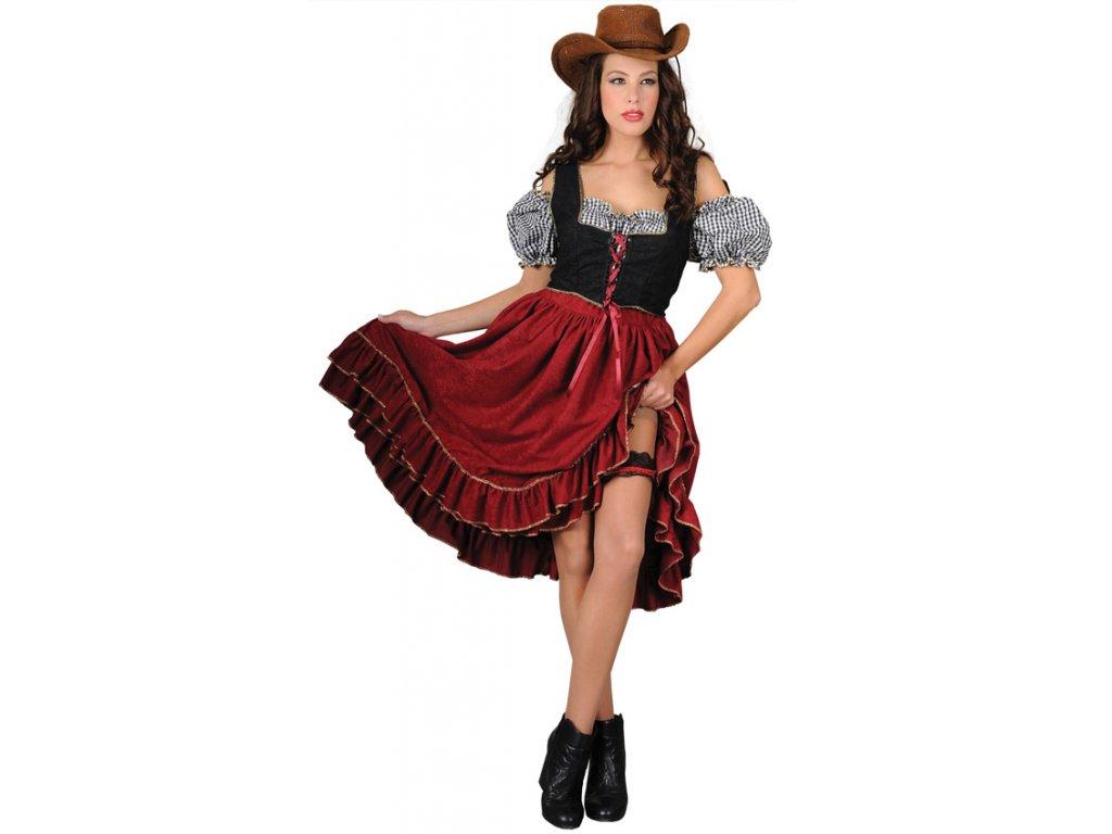 Saloon Girl II - kostým  dámský karnevalový kostým