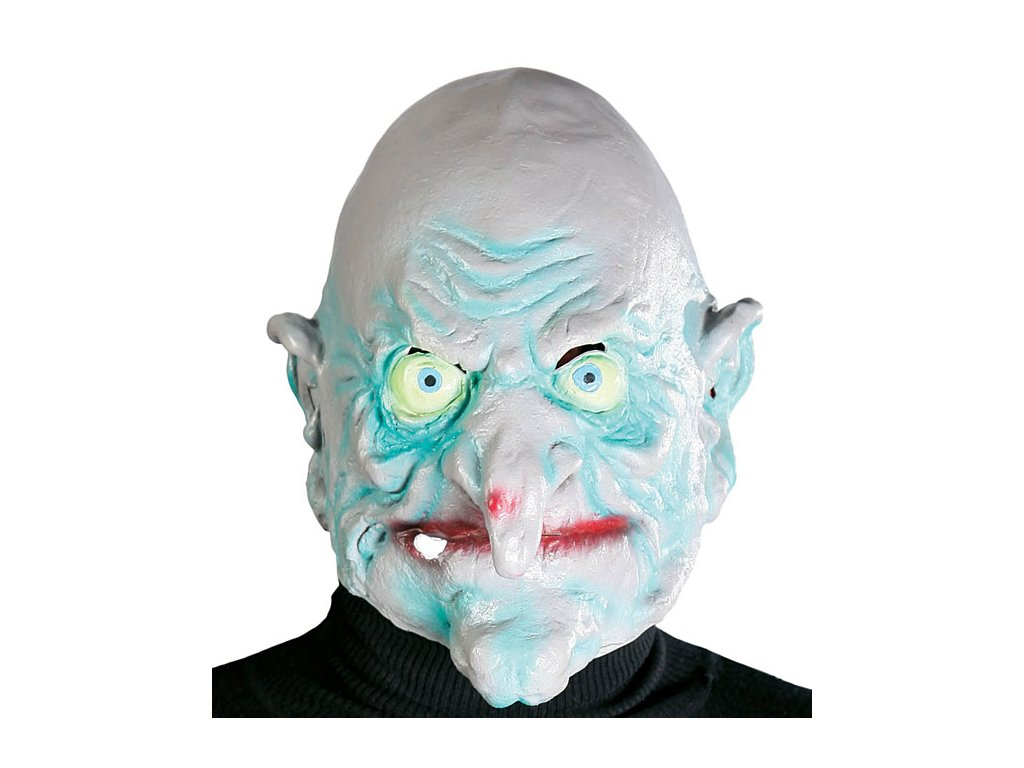 Maska latexová čaroděj (-nice) D