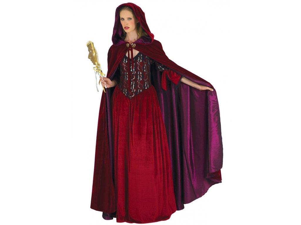Luxusní dámský plášť  dámský karnevalový kostým