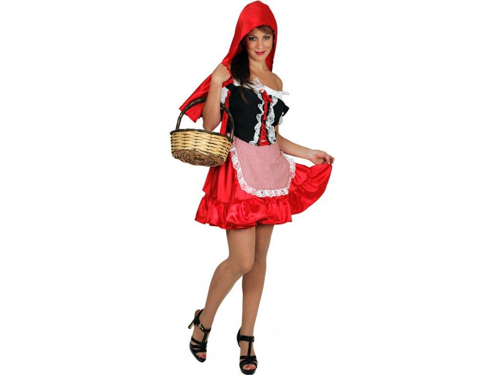 Červená Karkulka  dámský karnevalový kostým