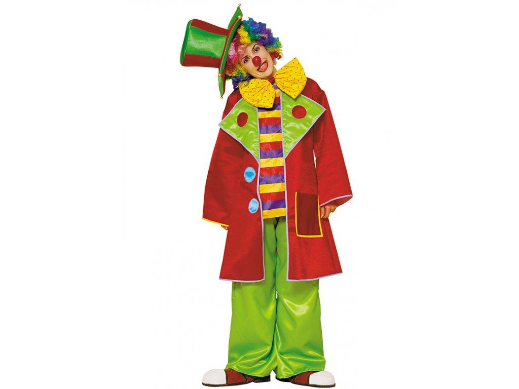 Kostým CLOWN (KLAUN)  dámský karnevalový kostým