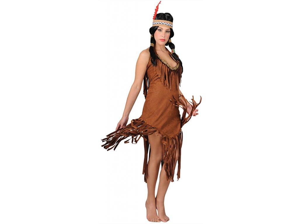 Kostým indiánka  dámský karnevalový kostým