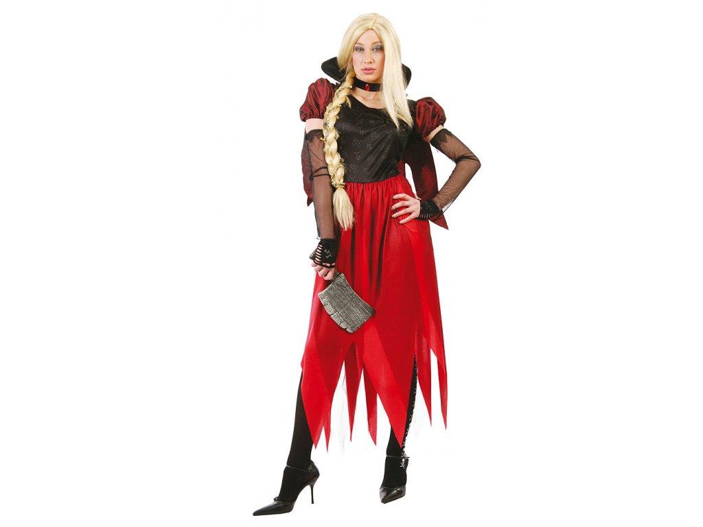 Kostým  čarodějnice - D  dámský karnevalový kostým čarodějka