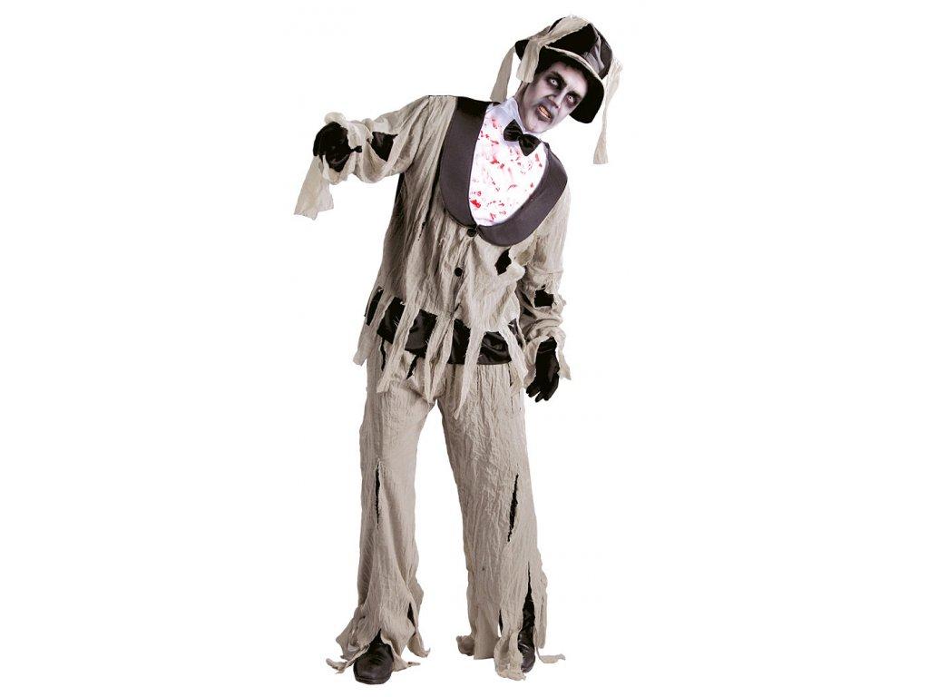 Kostým Le Marie Funebre D  strašidelný pánský karnevalový kostým vhodný nejen na Halloween