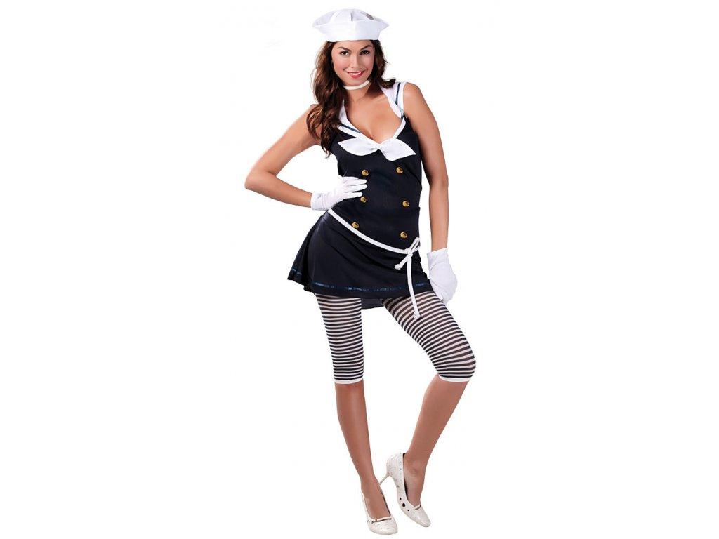 Kostým námořnice F D  dámský karnevalový kostým