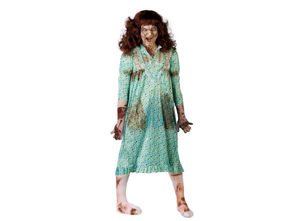Kostým POSEIDA - D  strašidelný dámský karnevalový kostým vhodný nejen na Halloween