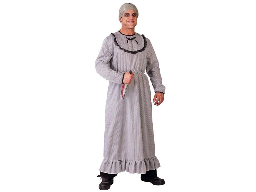 Kostým PSYCHOPAT D  strašidelný pánský karnevalový kostým vhodný nejen na Halloween