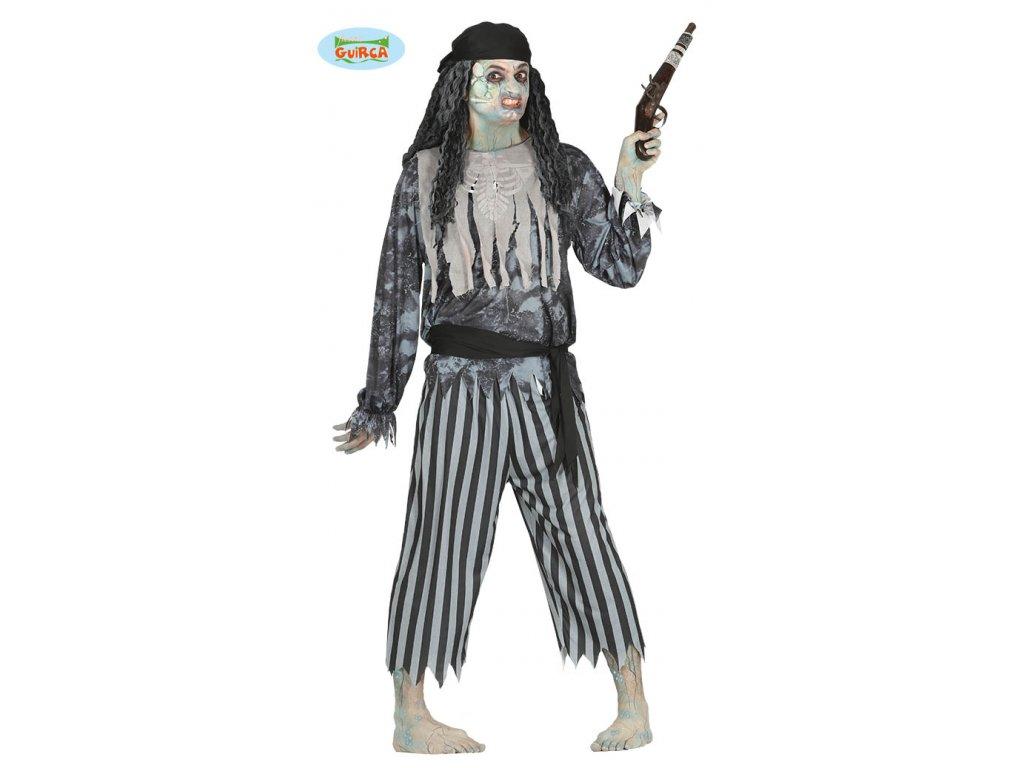 Kostým PIRATE FANTOME  strašidelný pánský karnevalový kostým vhodný nejen na Halloween