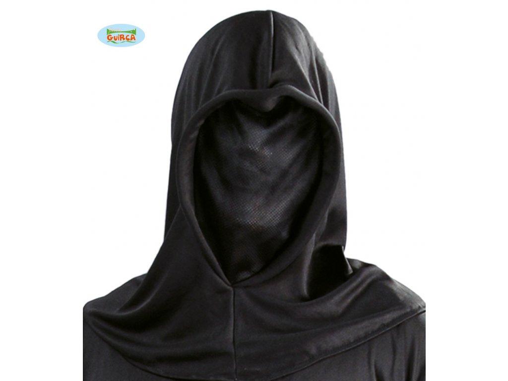 Maska černá průzračná