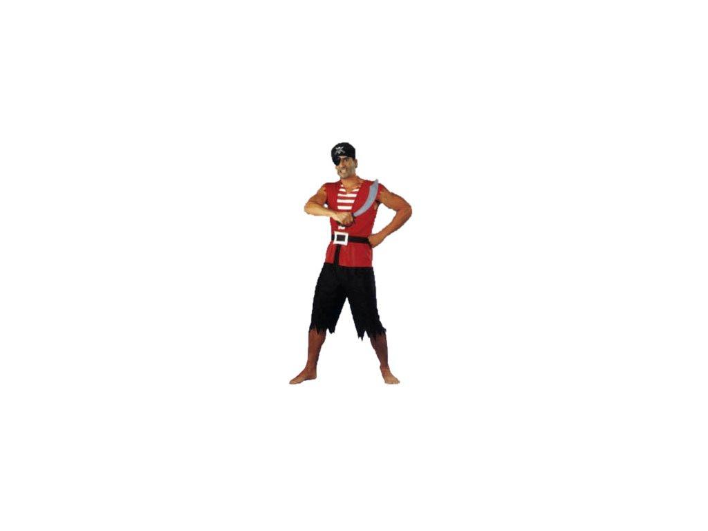 Pirátský kostým vel. 48  pánský karnevalový kostým