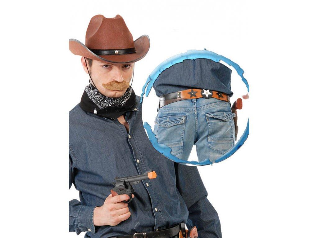 Kovbojský pás (bez pistole) D