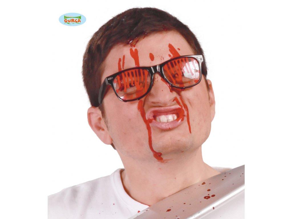 Zkrvavené brýle D  Halloween