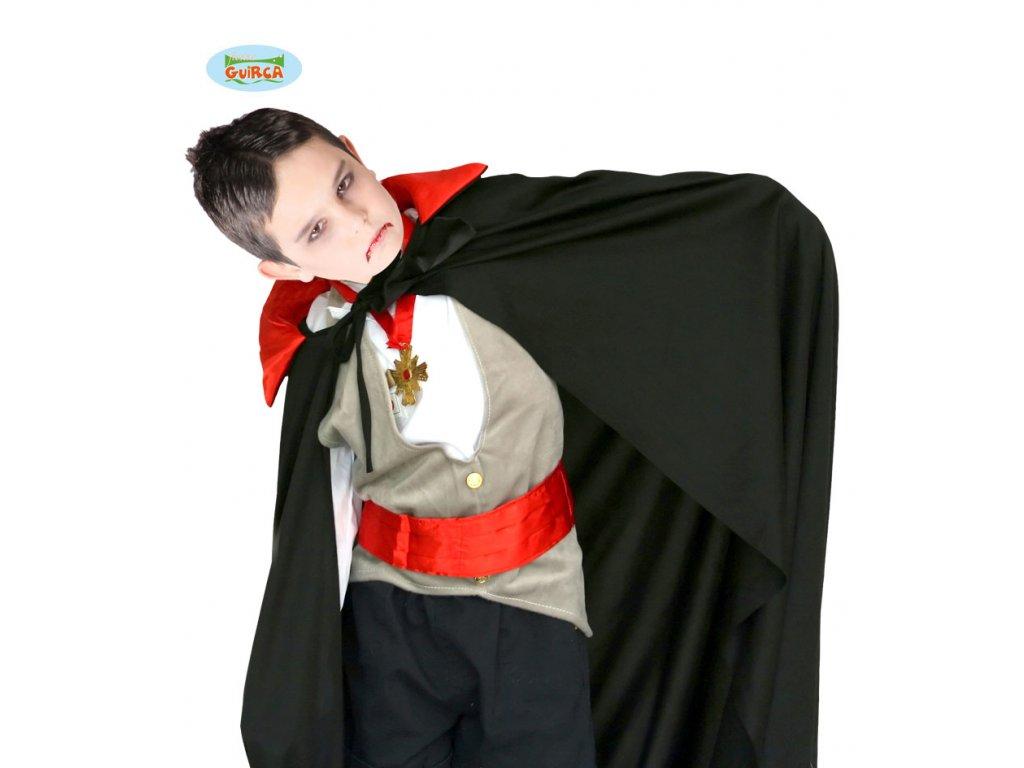 Upíří plášť  90 cm x  dětský - chlapecký karnevalový - maškarní kostým