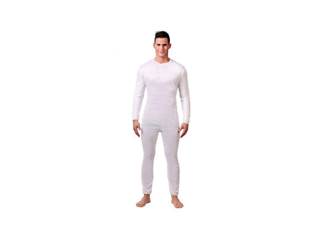 Pánský overal bílý  pánský karnevalový kostým