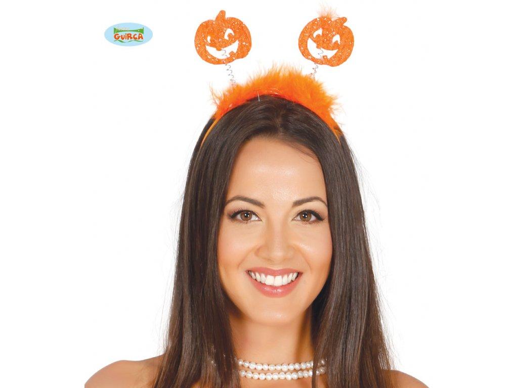 Dýně na sponě  Halloween