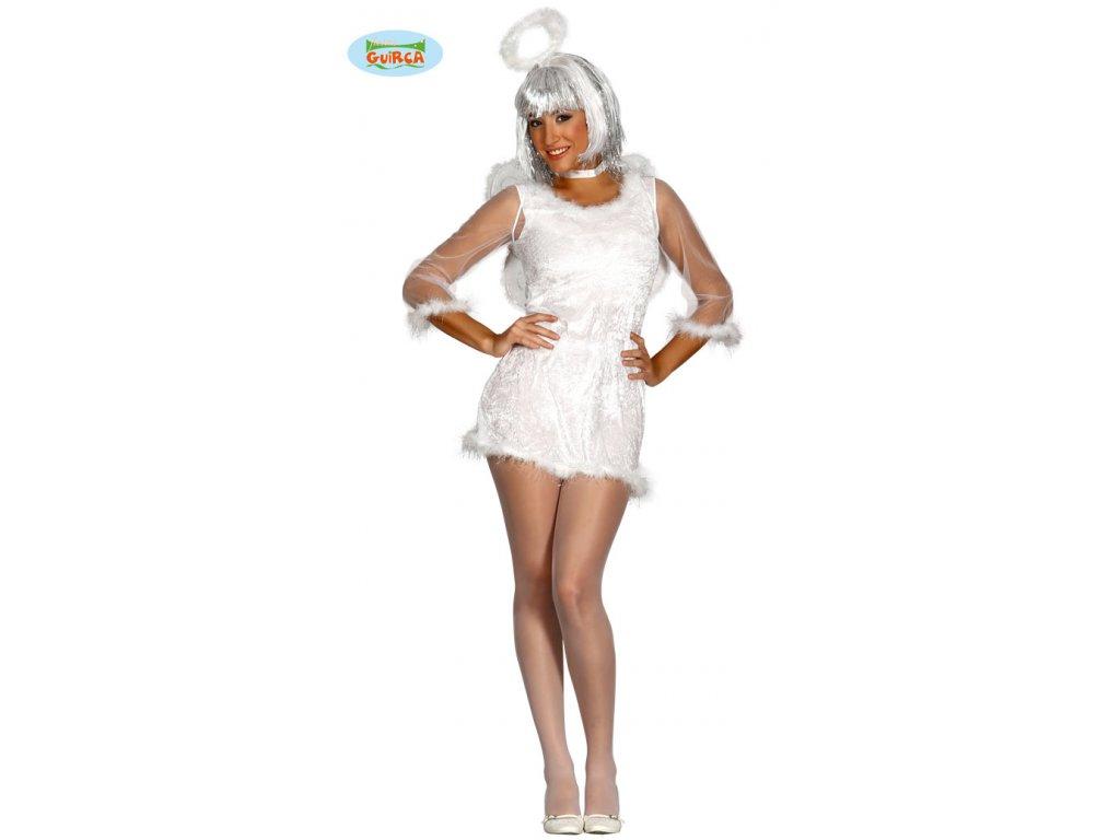 Kostým anděl  dámský karnevalový kostým