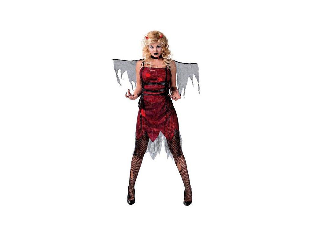 Kostým DANIZA D  dámský karnevalový kostým vhodný nejen na Halloween