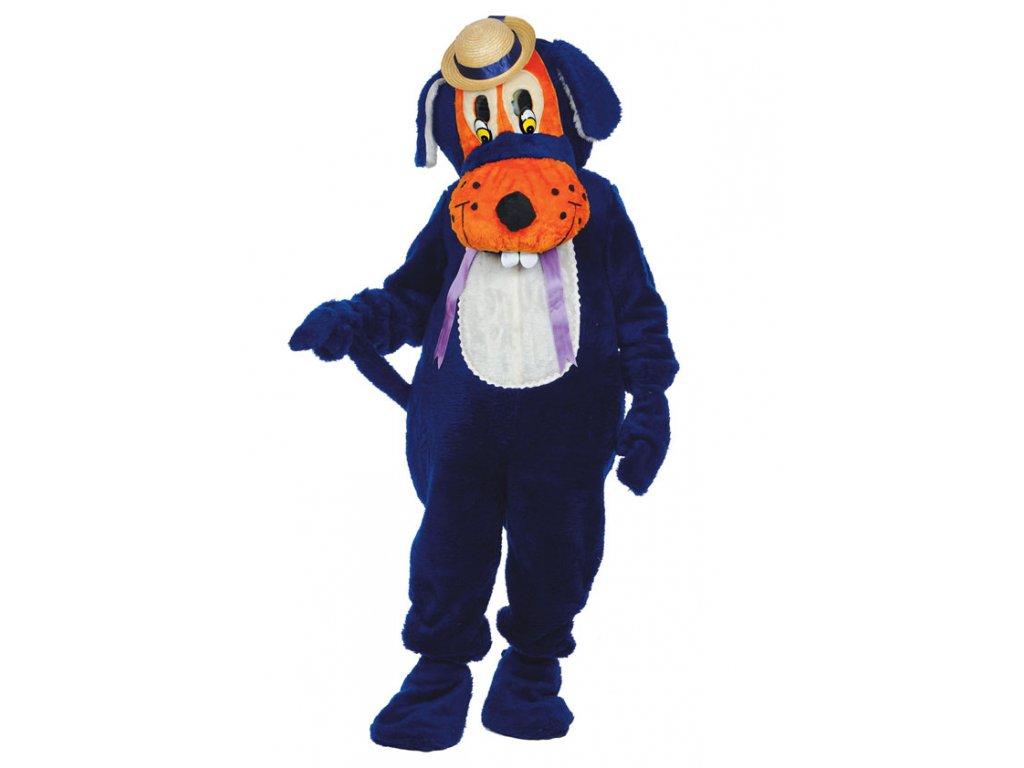 Pes  - maskot  pánský karnevalový kostým