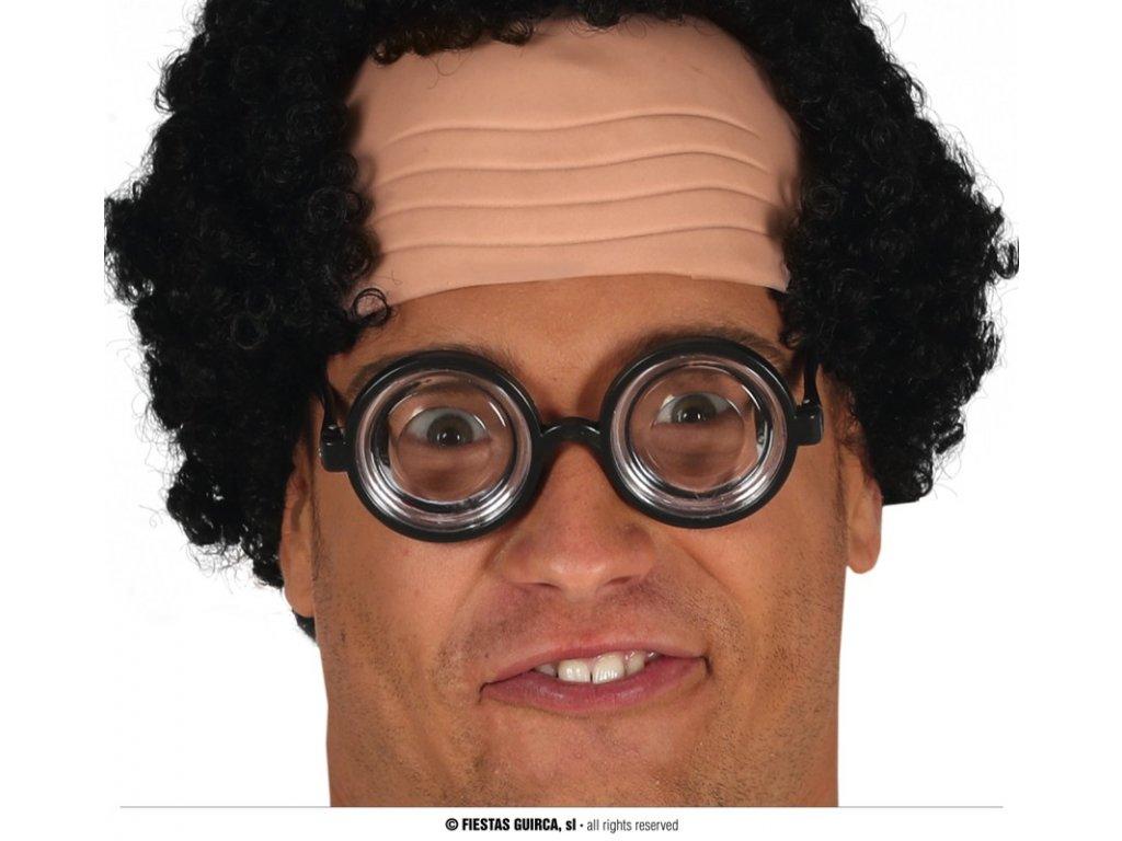 Brýle s tlustými skly