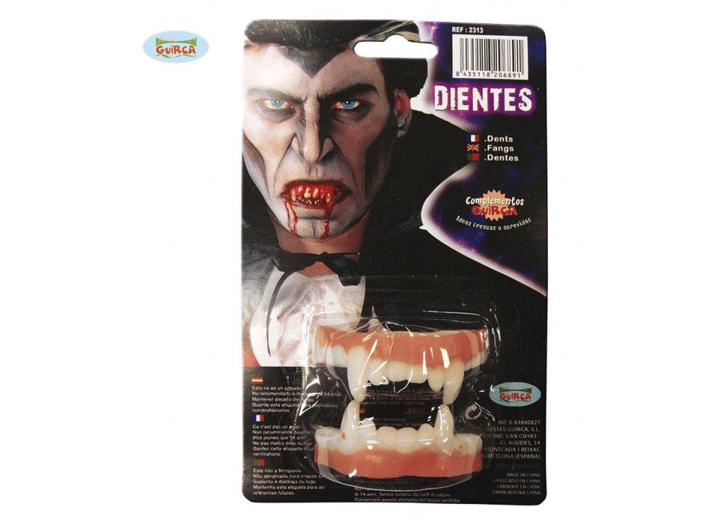 Latexové zuby (2313) - upír  Halloween