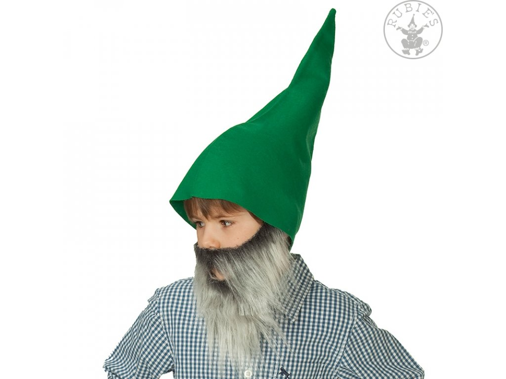 Trpaslík čepice zelená
