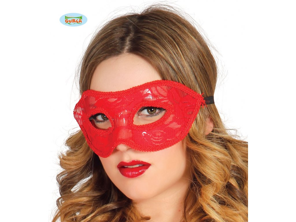 Červená maska