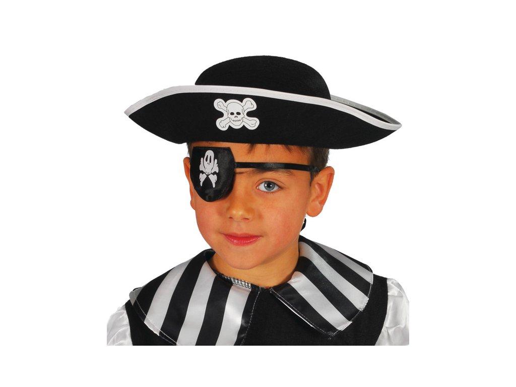 Pirátský klobouk filcový dětský