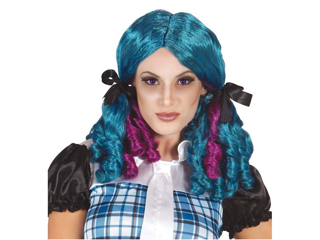 Paruka Elvíra modrofialová D