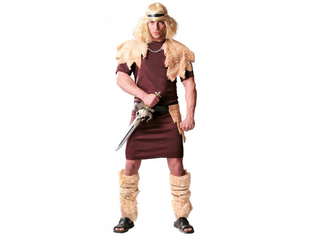 Kostým barbar D  pánský karnevalový kostým
