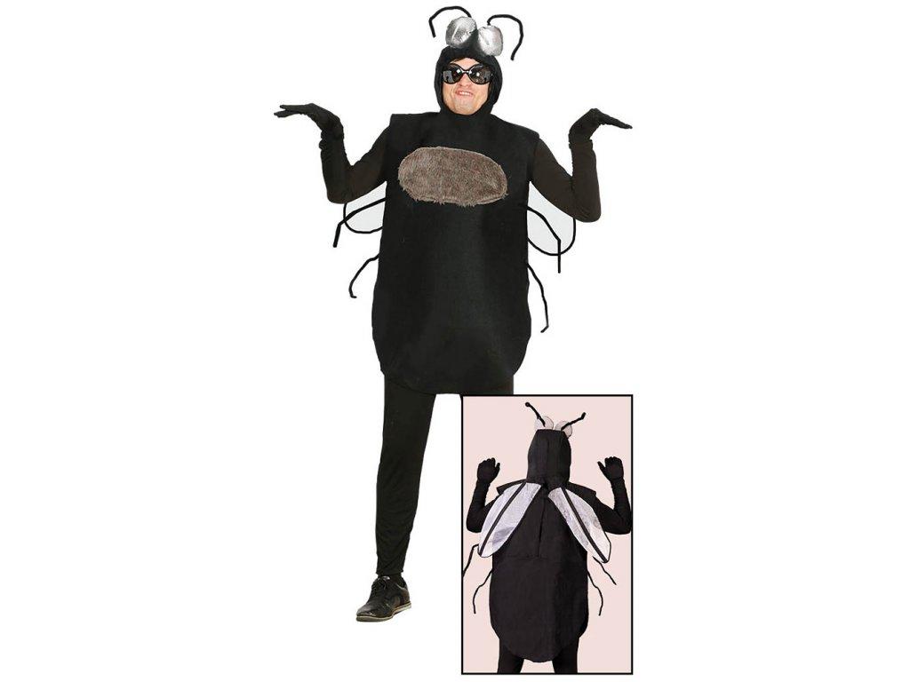 Kostým mouchy  pánský karnevalový kostým