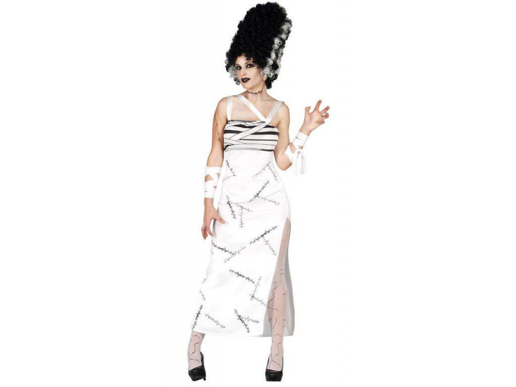 Madam Frankeinstein  dámský karnevalový kostým vhodný nejen na Halloween