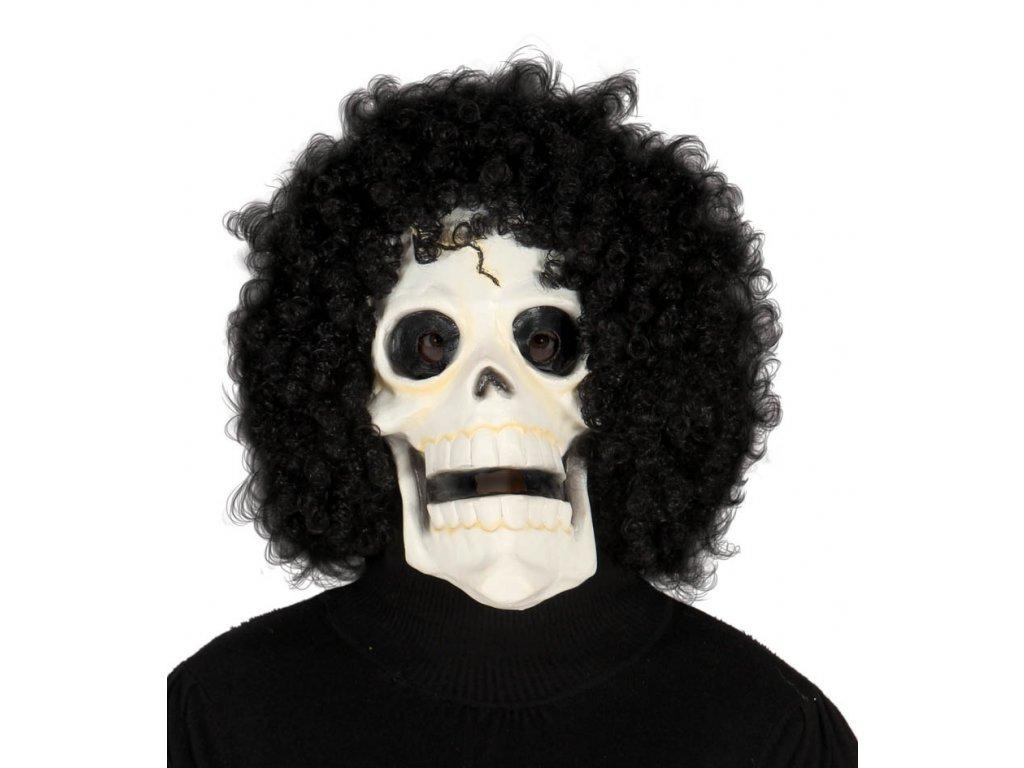 Maska SKULL s vlasy D