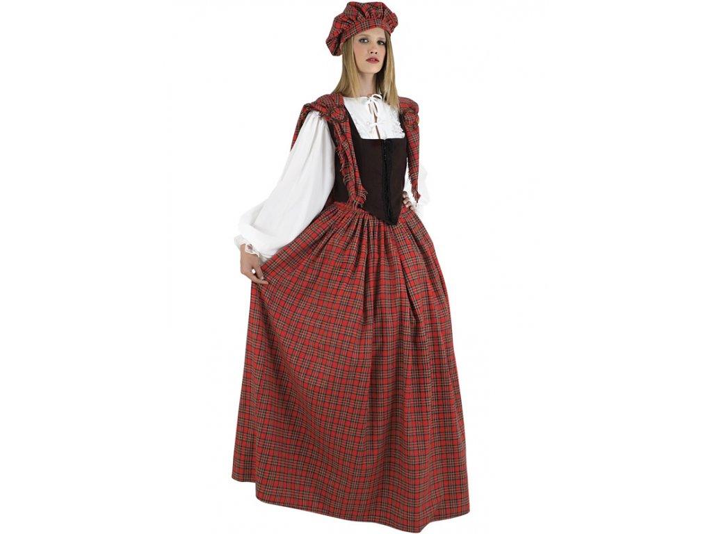 Kostým skotská dívka  dámský karnevalový kostým