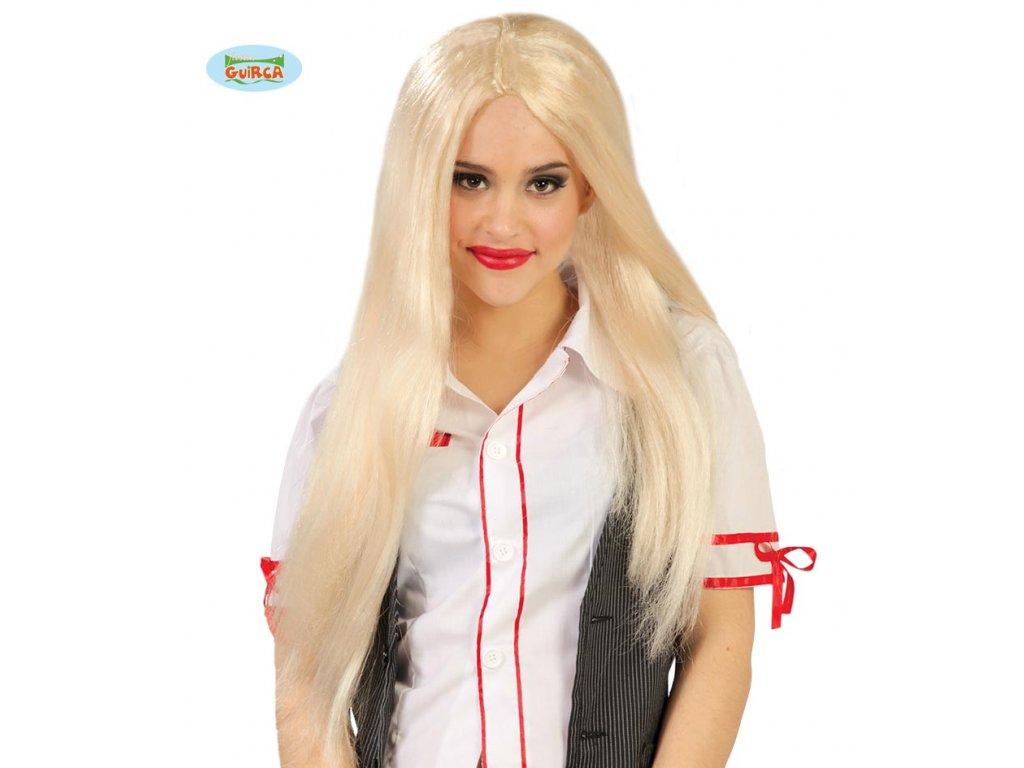 Paruka dlouhá blond